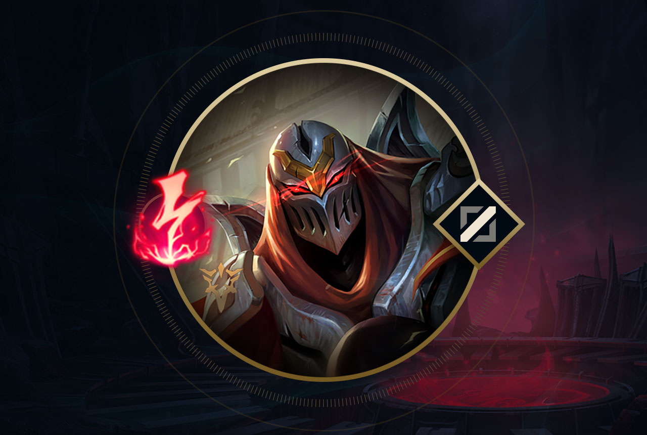 what was that zed mid runes rune forge league of legends