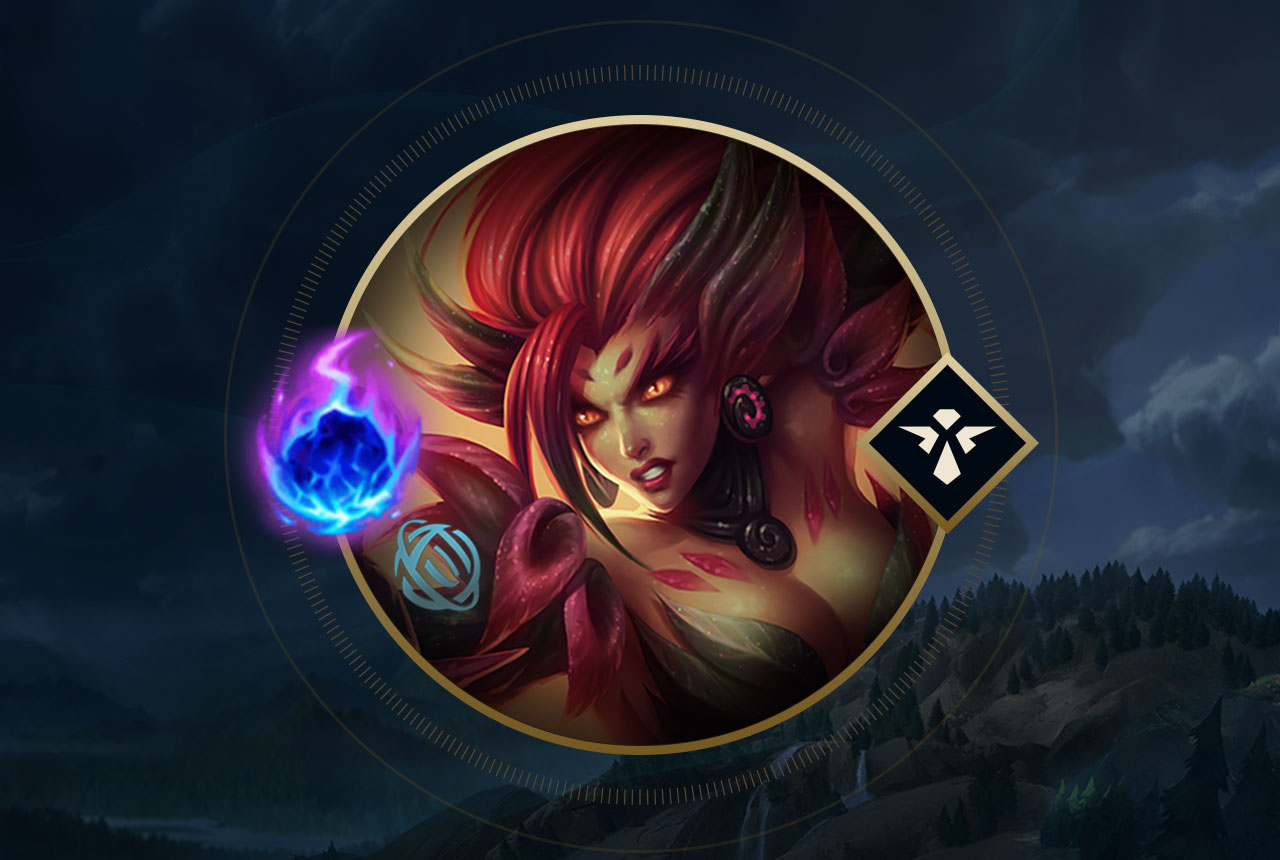 bas prix 83987 388d1 Death is in Bloom - Zyra Support Runes | Rune Forge | League ...