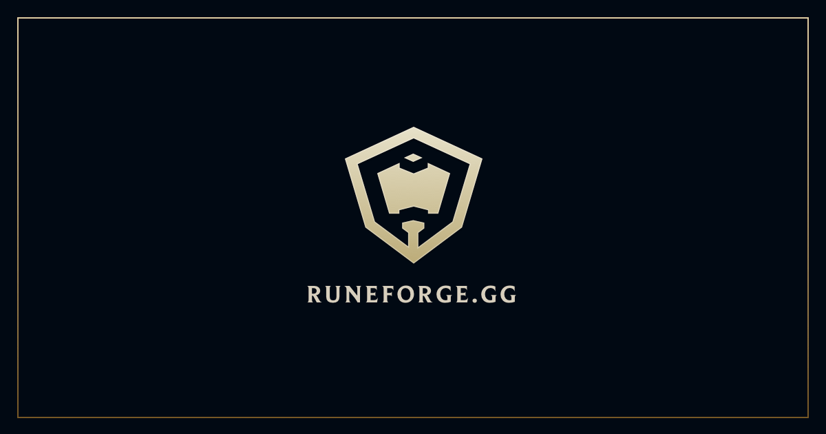Rune Forge - Up-to-date rune pages for all League of Legends champions